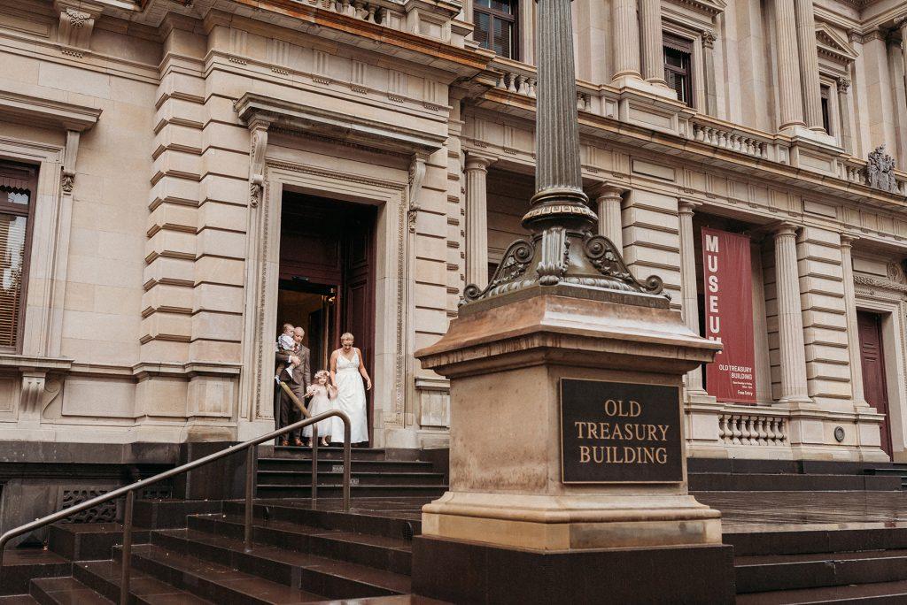 registry wedding old treasury building