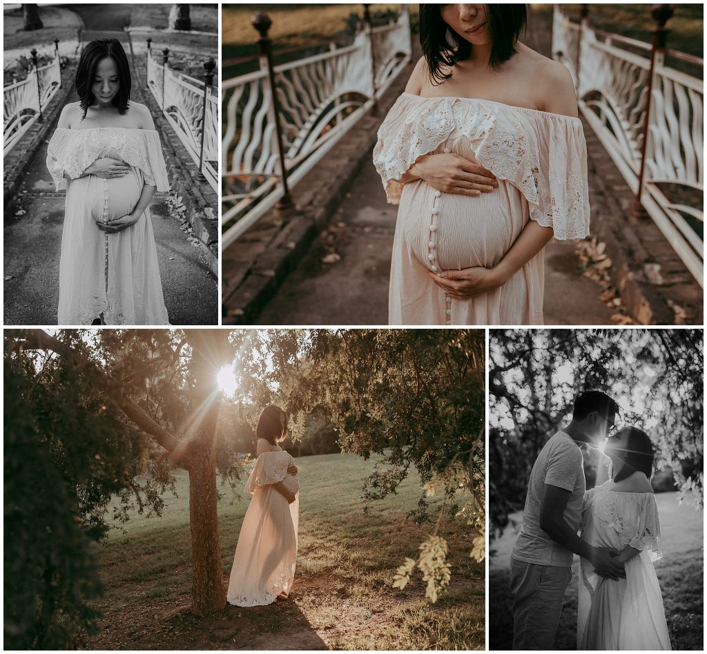 photography of family expecting