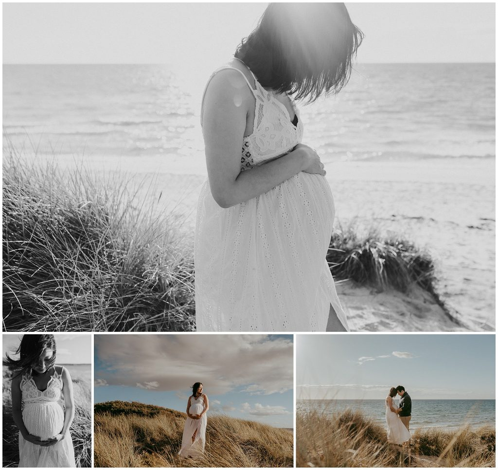 maternity photo session melbourne beach