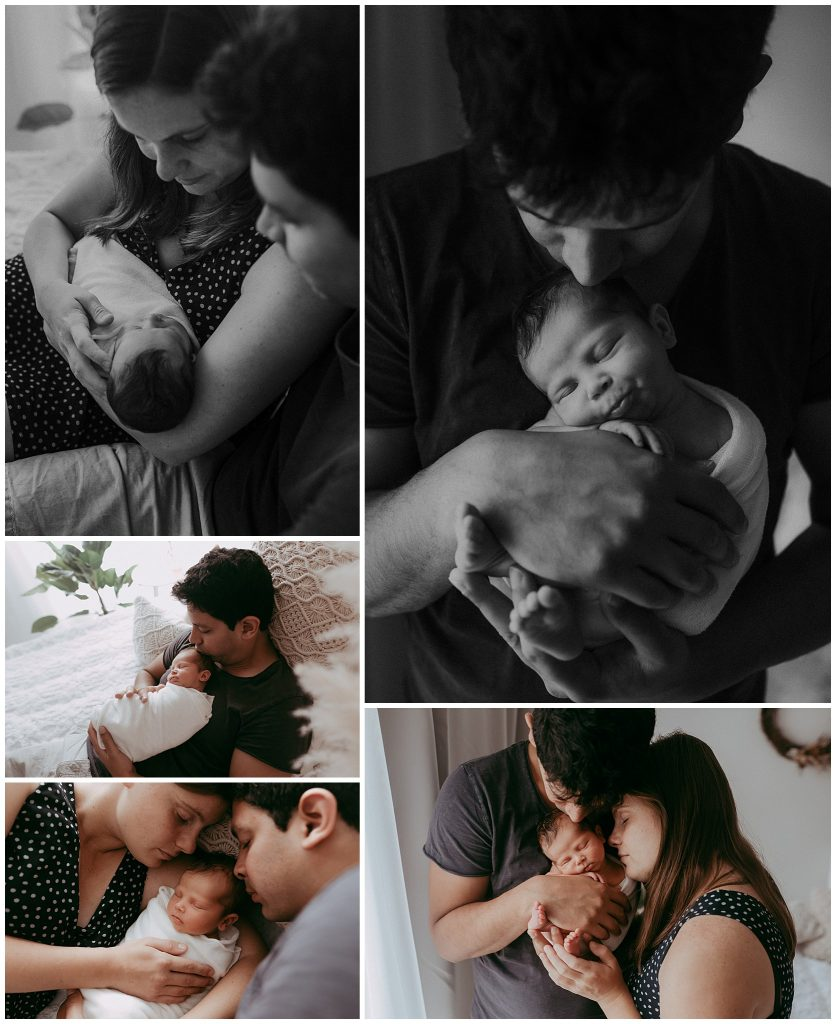 melbourne newborn photography session with newborn girl