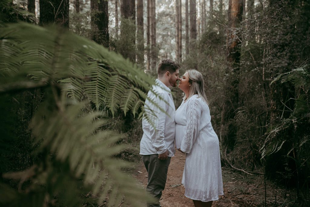 maternity photosession the dandenongs