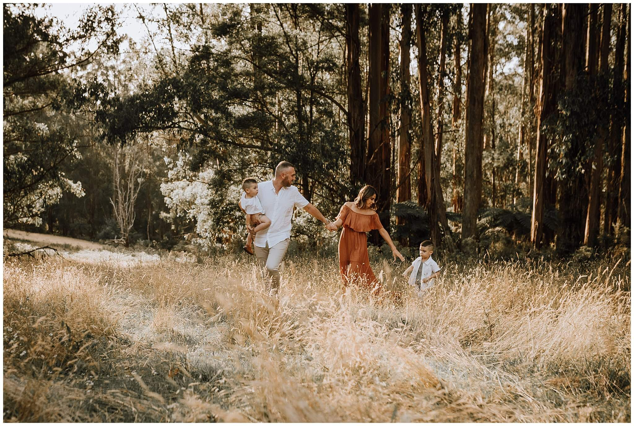 A Family Photography Session In The Dandenongs