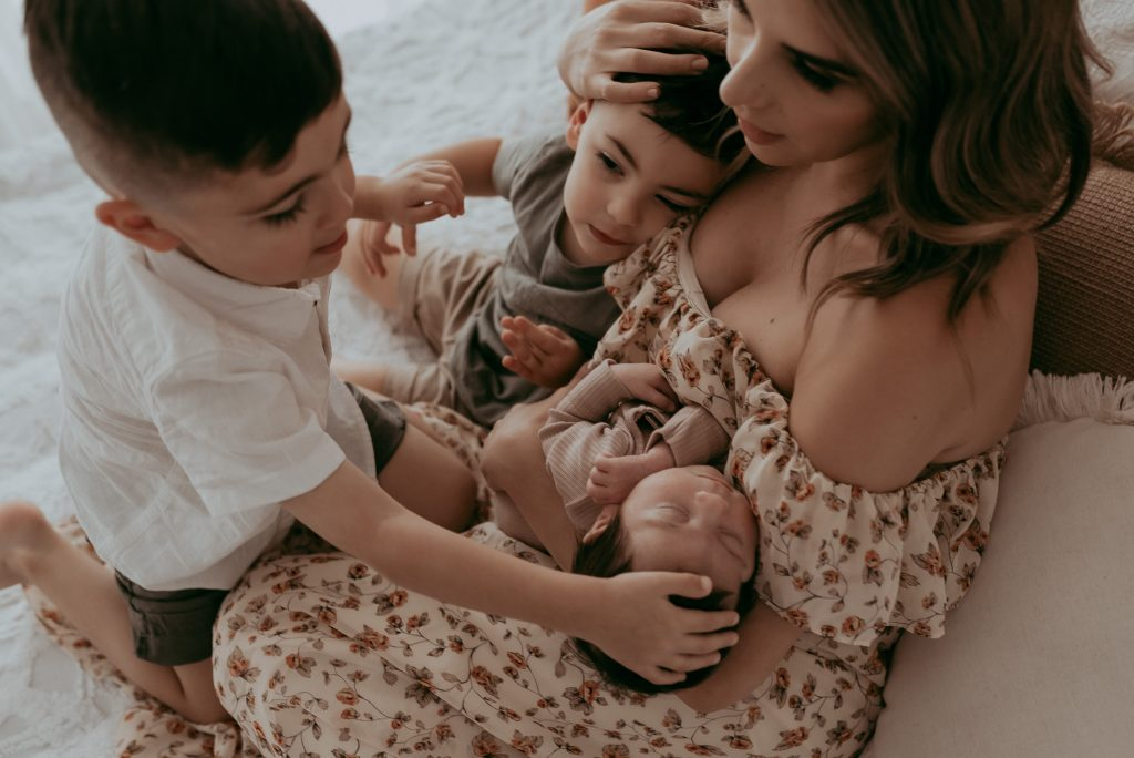 mother and her loves