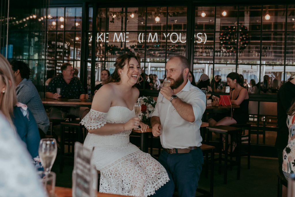 newly weds in melbourne city