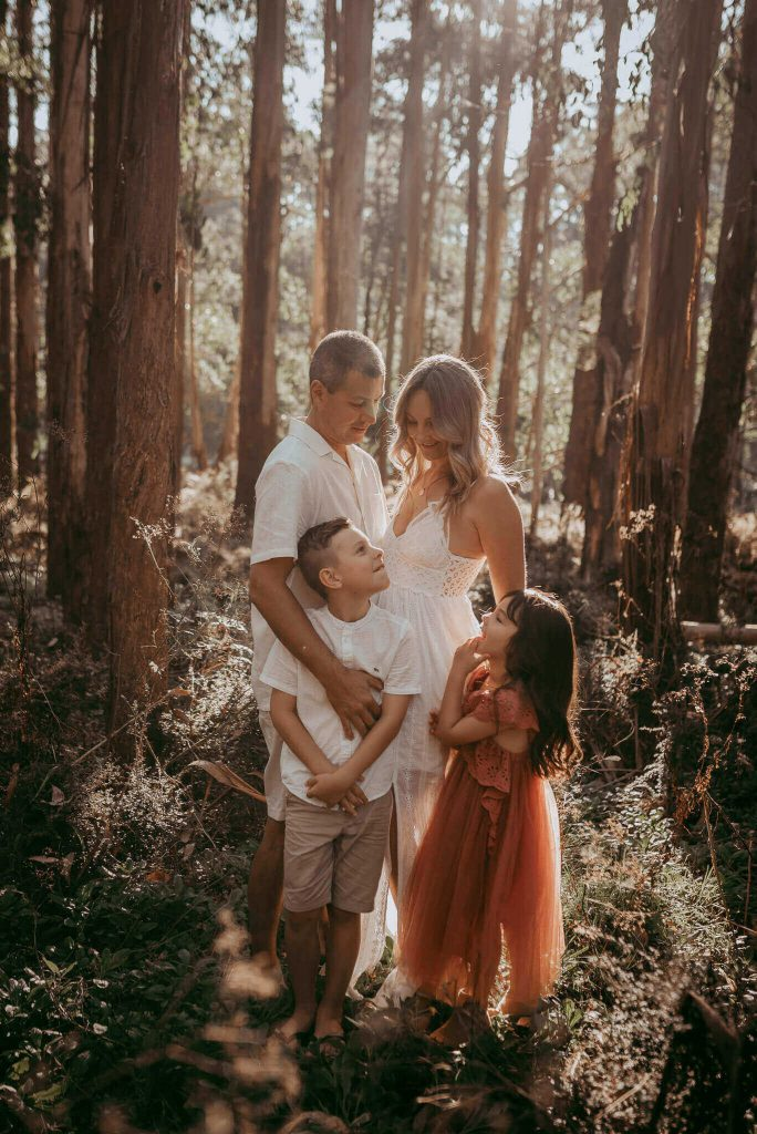 The Dandenongs Family photoshoot