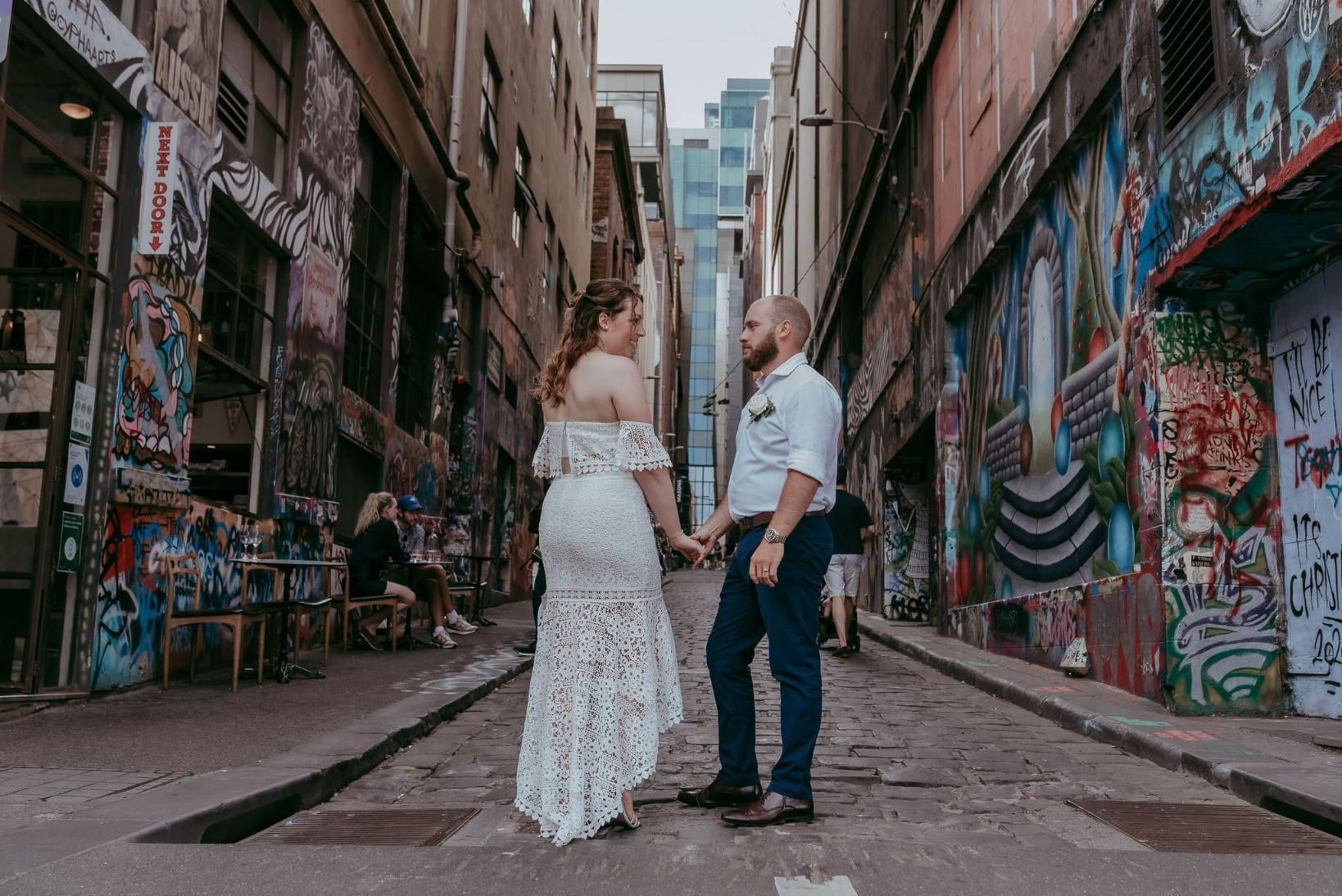 Wedding Photos Around The City