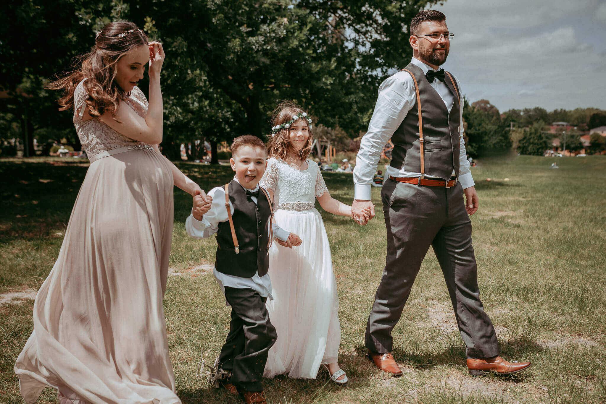 The Sweetest Wedding Ceremony